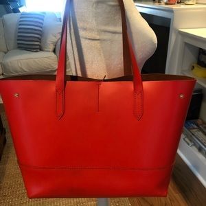 J Crew Leather tote